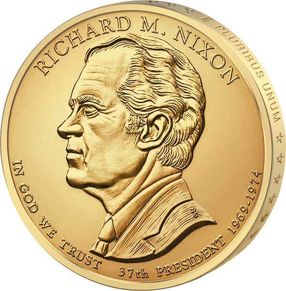 1 Dollar USA Richard M. Nixon 2016 Stempelglanz