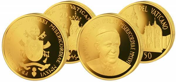 20 und 50 Euro Vatikan Päpstliches Heiligtum des Heiligen Hauses in Loreto