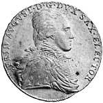 Taler Ausbeutekonventionstaler Friedrich August 1800-1806 ss-vz