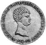 Taler Konventionstaler Friedrich Günther 1812-1813 Vorzüglich