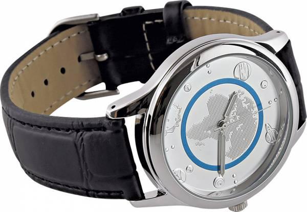 Armbanduhr Blauer Planet Erde