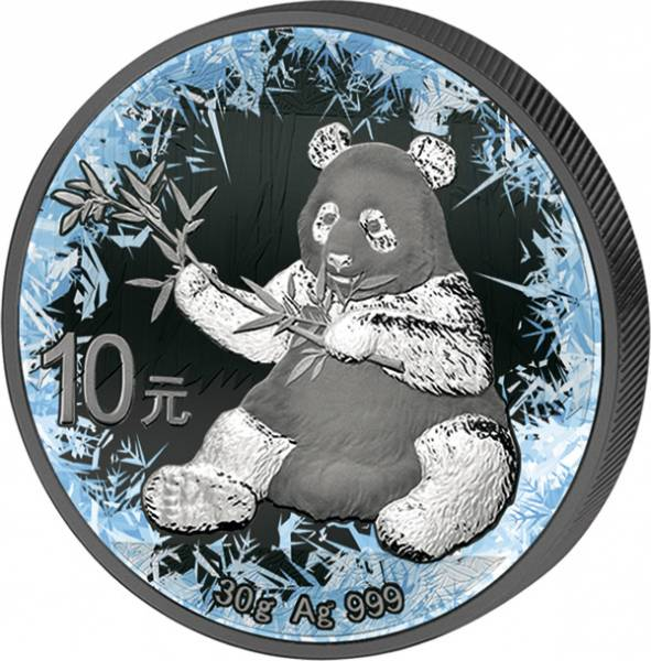 10 Yuan China Deep Frozen Edition Panda 2017