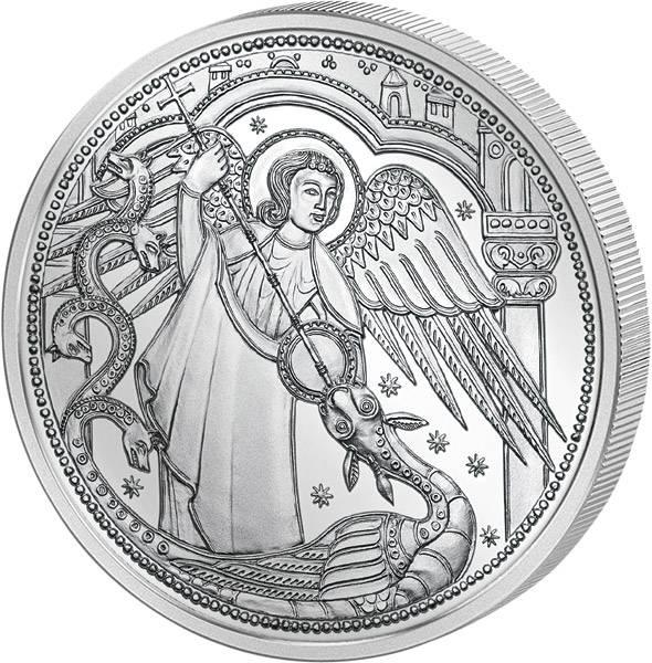 10 Euro Österreich Himmlische Boten Erzengel Michael