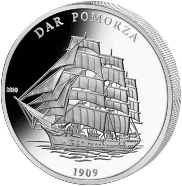 1.000 Francs Elfenbeinküste Dar Pomorza 2010