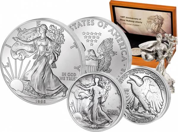 USA Jubiläums-Edition 100 Jahre Liberty 1916 / 1986  Stempelglanz