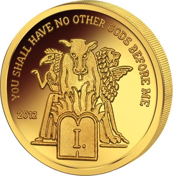 1.500 Francs CFA Kamarun Das erste Gebot 2012 Polierte Platte