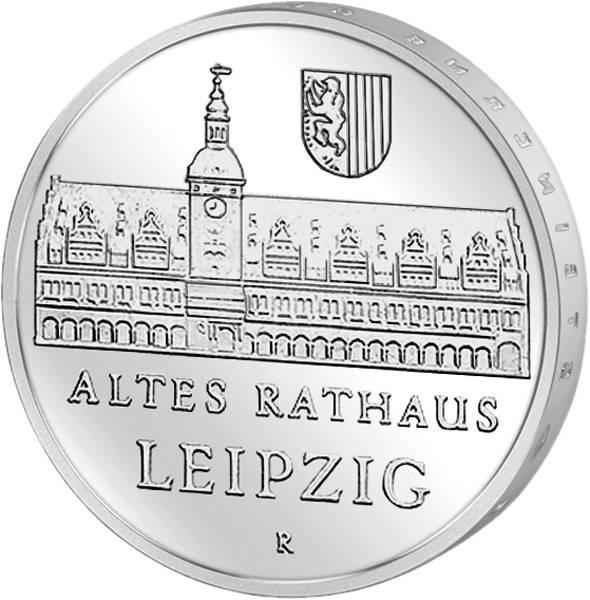 5 Mark Altes Rathaus Leipzig
