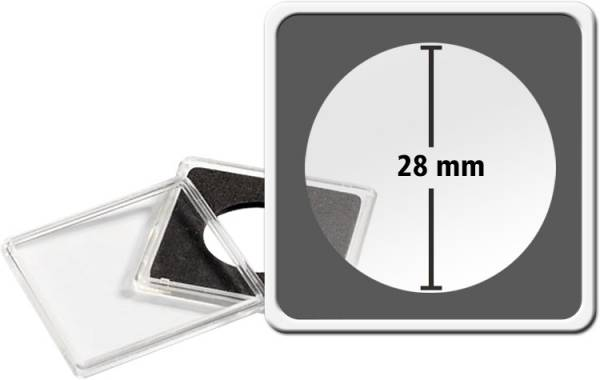 Quadrum Intercept-Kapsel Durchmesser 28 mm
