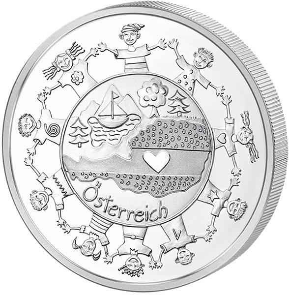 10 Euro Österreich Bundesländer Österreich von Kinderhand