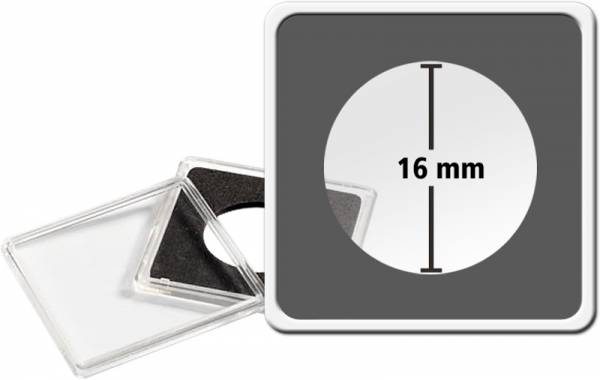 2er-Pack MAGNICAPS-Münzkapseln Durchmesser 16 mm