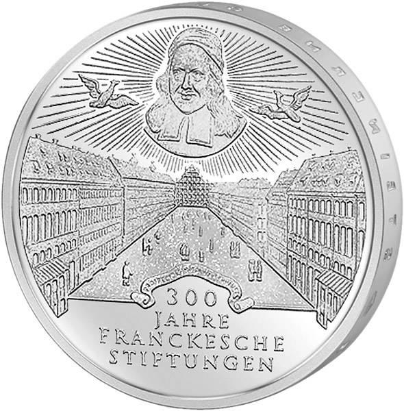 10 DM 300 Jahre Franckesche Stiftungen