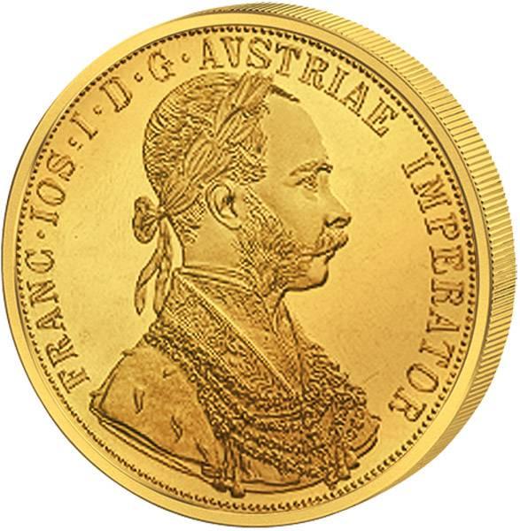 4 Dukaten Österreich Kaiser Franz Joseph I. NP 1915 prägefrisch