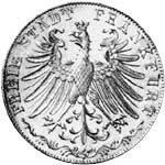 Taler Doppelgulden 100 Jahre Goethe 1948  ss-vz