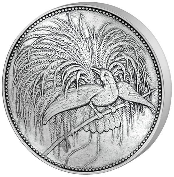 2 Mark Deutsch Neuguinea Vogel 1894 A Sehr schön