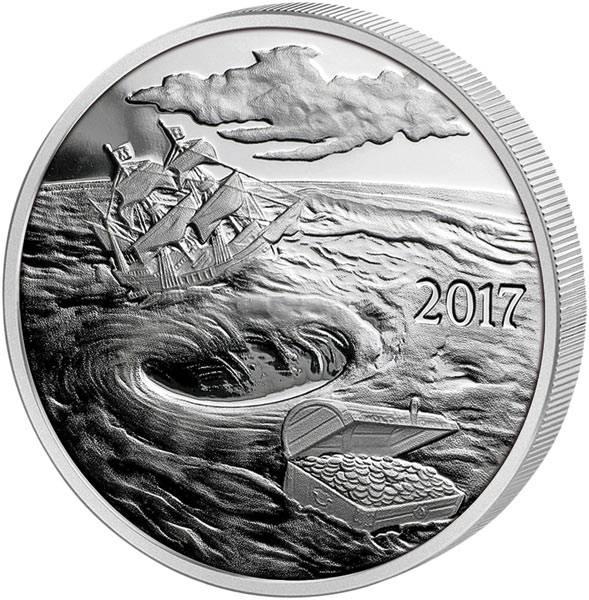 Gedenkprägung Silverbug Island Whirlpool