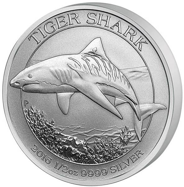 50 Cents Australien Tigerhai