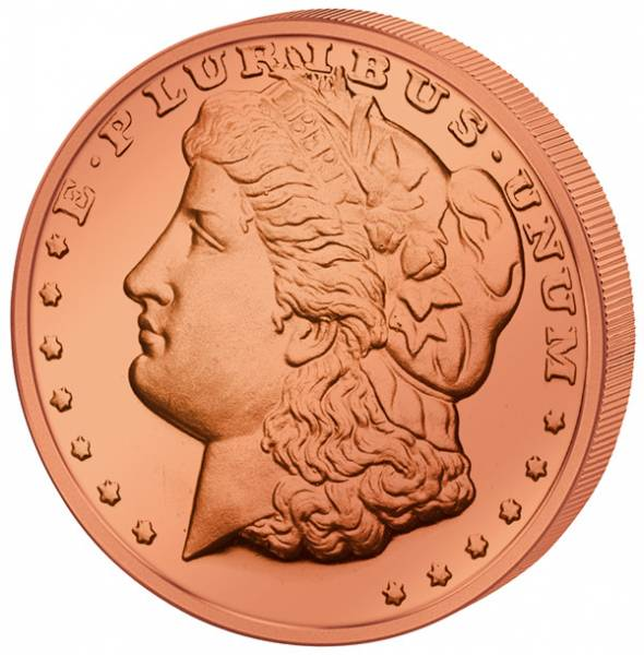 1 Unze Gedenkprägung Morgan Dollar