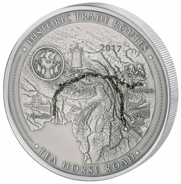 5.000 Francs Kamerun Teeroute 2017