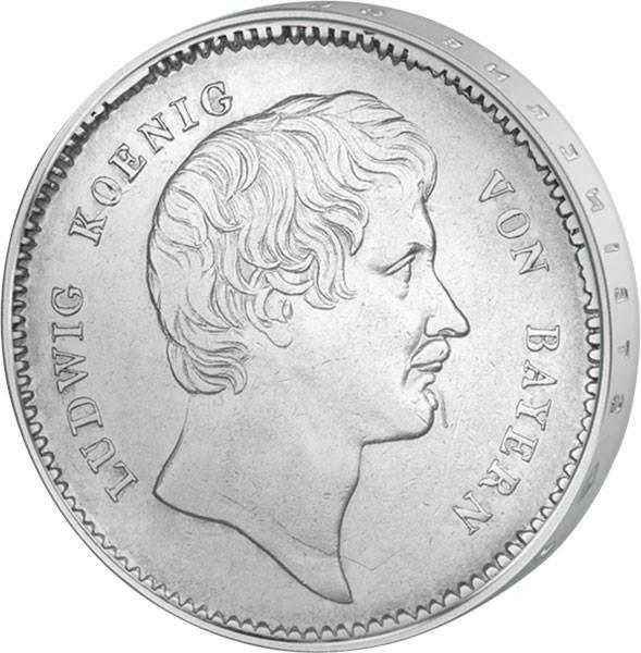 Taler Bayern Kronentaler Ludwig I.  1826-1829  ss-vz