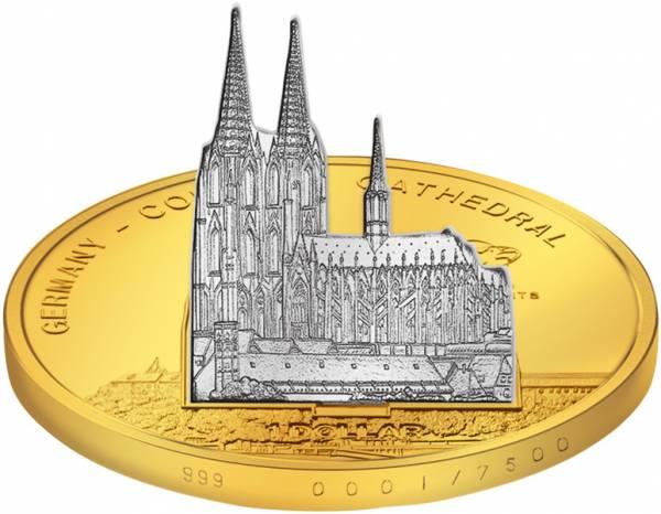 1 Dollar Cook-Inseln Deutschland Kölner Dom 2010