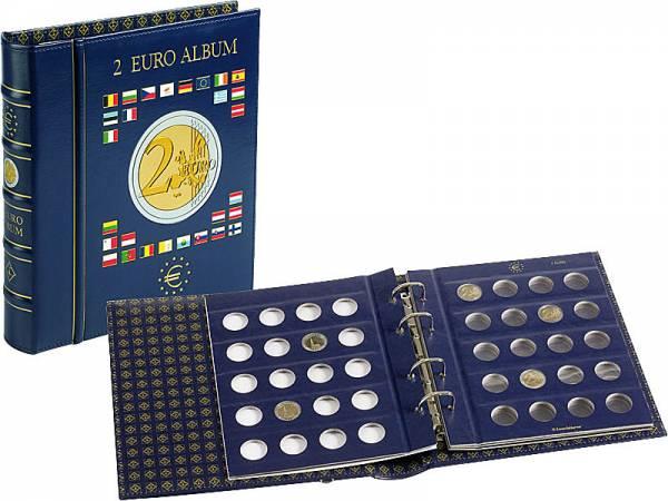 2-Euro-Münzalbum mit 4 Münzblättern