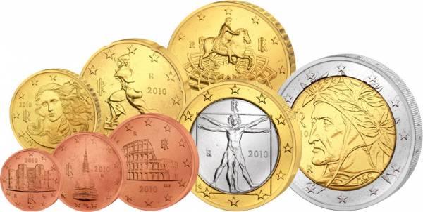 Euro-Kursmünzensatz Italien J.u.W prägefrisch