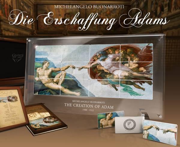 60 Dollars Niue Giants of Art Erschaffung Adams 2013
