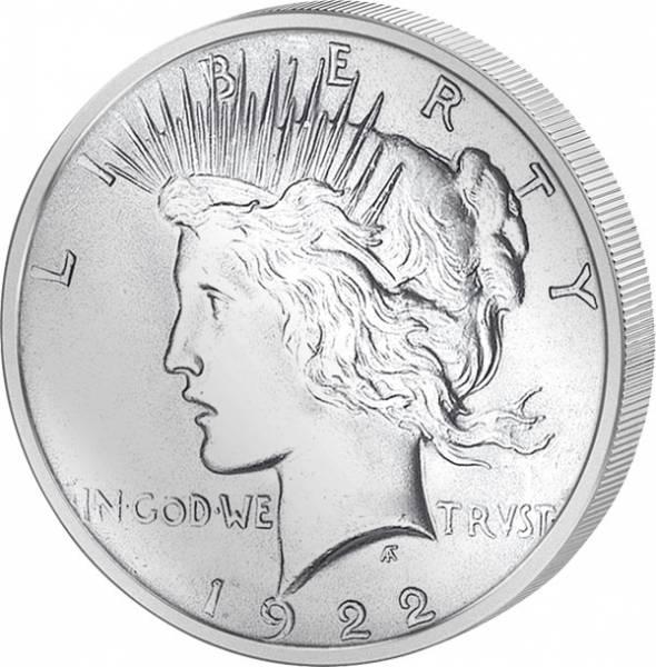 1 Dollar  USA Peace 1878-1921  vz-st