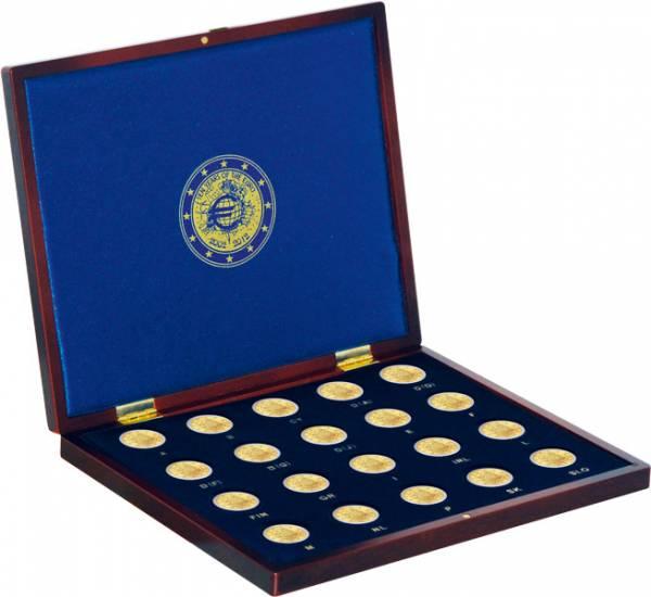 Münzkassette für 2 Euro Gedenkmünzen 10 Jahre Euro