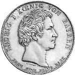 Geschichtstaler Ludwig I. Landtag 1834   vorzüglich