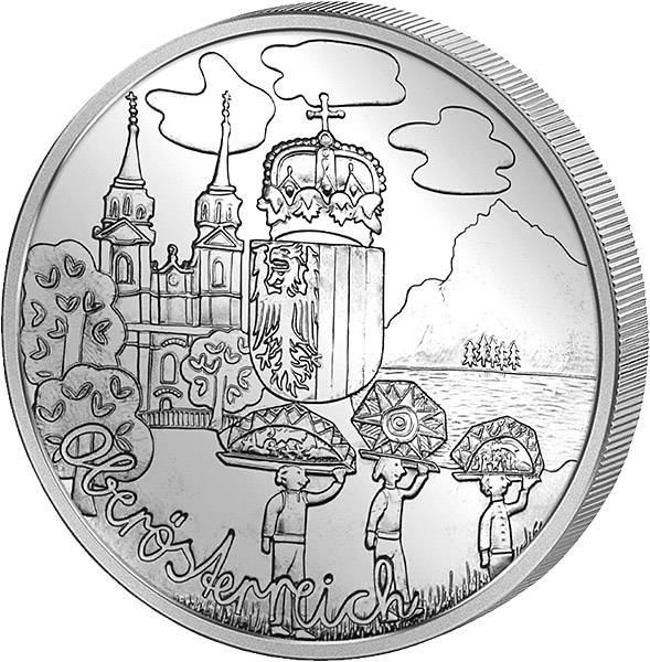 10 Euro Österreich Oberösterreich