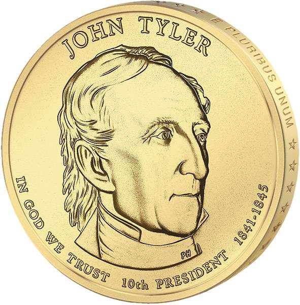 1 Dollar USA John Tyler 2009 Stempelglanz