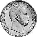 Taler Vereinstaler Wilhelm 1864-1871 Sehr schön